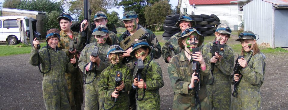 Hamilton Catholic Youth Peace Keeping Soldiers