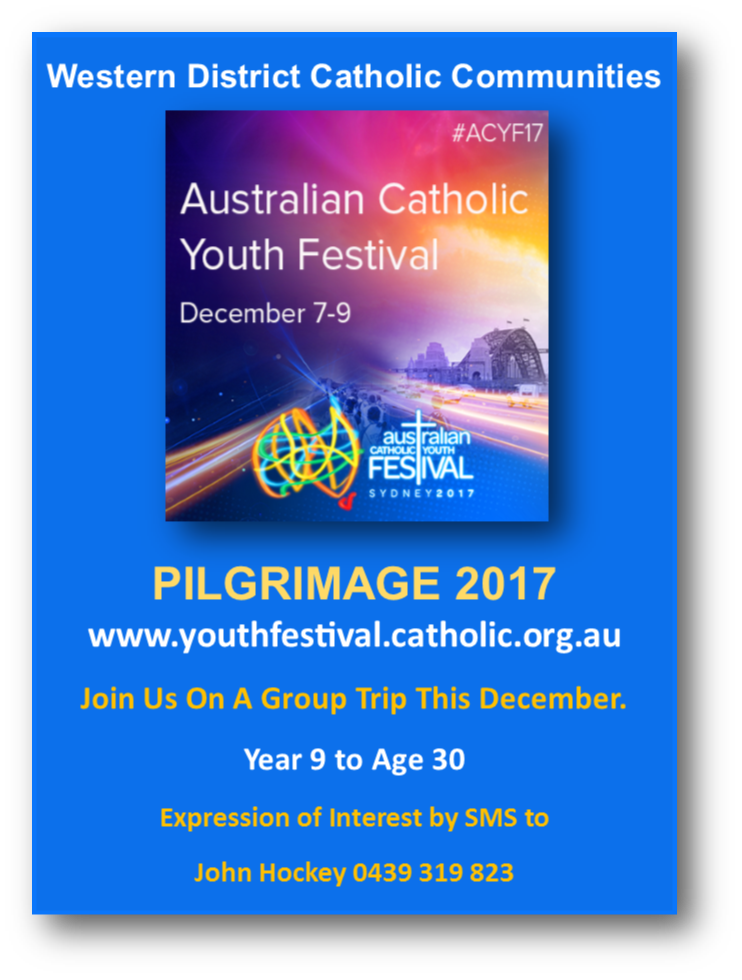 Australian Catholic Youth Festival Pilgrimage 2018