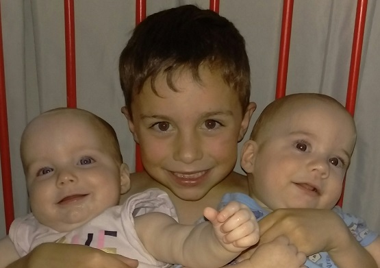 Connor, Aliza and Nathaniel Wensley