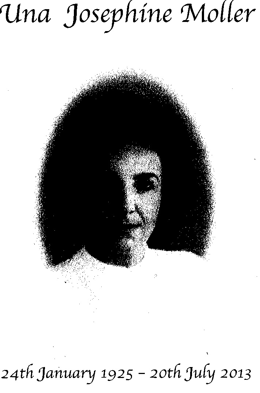 MOLLER, Una Josephine